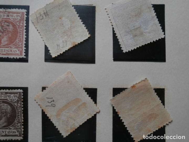 Sellos: ESPAÑA - PRIMER CENTENARIO - COLONIAS - ALFONSO XIII - PUERTO RICO 1898 EDIFIL 130/149. - Foto 5 - 275286273