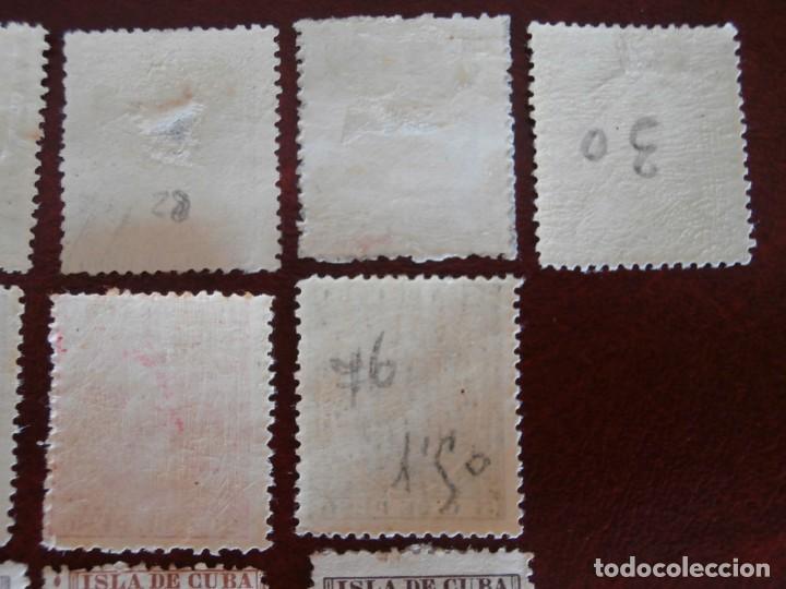 Sellos: ESPAÑA PRIMER CENTENARIO - COLONIAS - ALFONSO XIII - CUBA 1896-1897 - EDIFIL 140/153 - COMPLETA -. - Foto 5 - 276124493