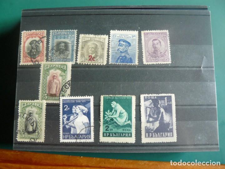 10 SELLOS CUBA, URRSS Y BULGARIA (Sellos - España - Colonias Españolas y Dependencias - América - Otros)