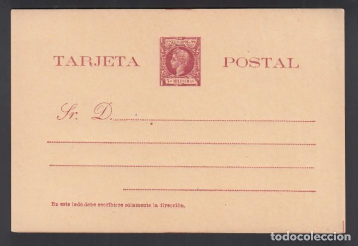 PUERTO RICO, TARJETA POSTAL. 1898 EDIFIL Nº 9, SIN CIRCULAR (Sellos - España - Colonias Españolas y Dependencias - América - Puerto Rico)