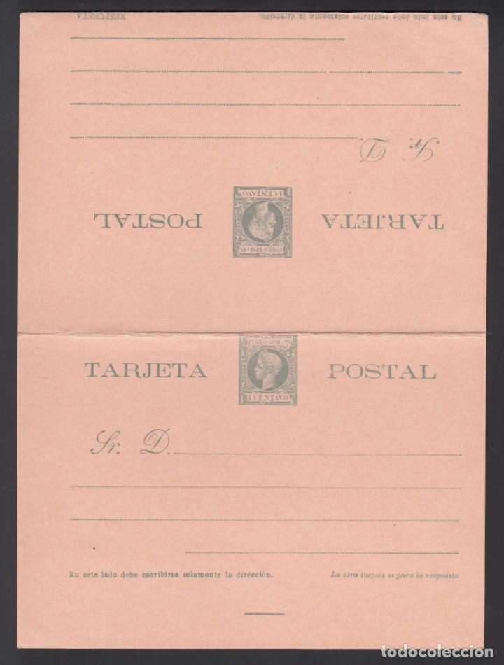 PUERTO RICO, TARJETA POSTAL. 1898 EDIFIL Nº 14, SIN CIRCULAR, (Sellos - España - Colonias Españolas y Dependencias - América - Puerto Rico)