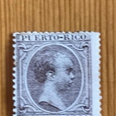 Sellos: PUERTO RICO, ALFONSO XIII, 1891-1892, EDIFIL 87, NUEVO. Lote 276642068