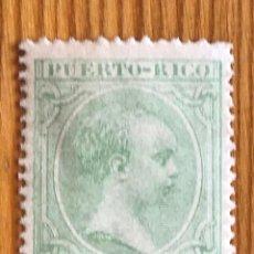 Sellos: PUERTO RICO, ALFONSO XIII, 1891-1892, EDIFIL 91, NUEVO. Lote 276643433