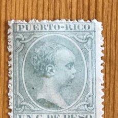 Sellos: PUERTO RICO, ALFONSO XIII, 1891-1892, EDIFIL 92, NUEVO. Lote 276643928