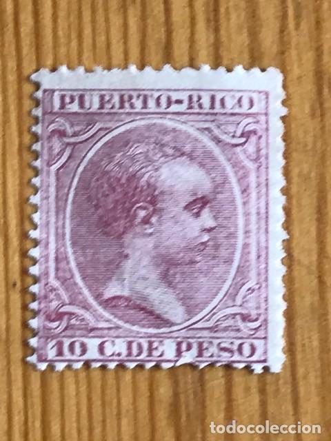 PUERTO RICO, ALFONSO XIII, 1891-1892, EDIFIL 97, NUEVO (Sellos - España - Colonias Españolas y Dependencias - América - Puerto Rico)