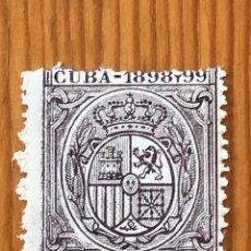 Sellos: CUBA, 1898 Y 99, 15 CÉNTIMOS, NUEVO **. Lote 276658738