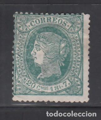 CUBA, 1867 EDIFIL Nº 20 (*) (Sellos - España - Colonias Españolas y Dependencias - América - Cuba)