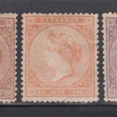 Sellos: ANTILLAS, 1869 EDIFIL Nº 16, 17, 18,. Lote 276934423