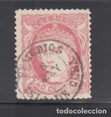 CUBA, 1870 EDIFIL Nº ANT. 21, MATASELLOS FECHADOR. REMEDIOS, ISLA DE CUBA. (Sellos - España - Colonias Españolas y Dependencias - América - Cuba)