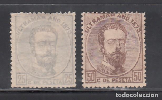 CUBA. 1873 EDIFIL Nº ANT. 25, 26, /*/ (Sellos - España - Colonias Españolas y Dependencias - América - Cuba)