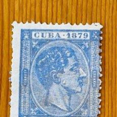 Sellos: CUBA, 1879, ALFONSO XII, EDIFIL 53, NUEVO SIN GOMA. Lote 286927623
