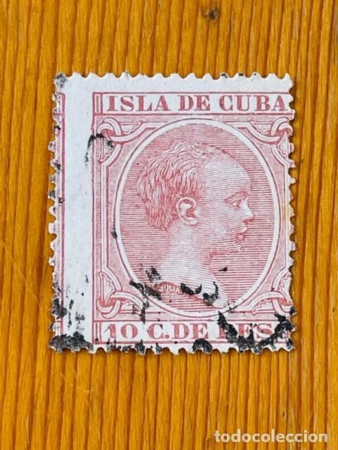 CUBA, 1890, ALFONSO XIII, EDIFIL 116, USADO (Sellos - España - Colonias Españolas y Dependencias - América - Cuba)