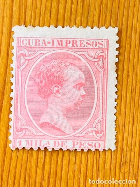 CUBA, 1894, ALFONSO XIII, EDIFIL 131, NUEVO (Sellos - España - Colonias Españolas y Dependencias - América - Cuba)