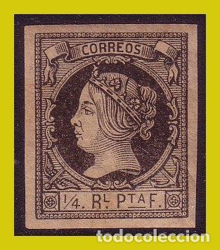 CUBA 1862 ISABEL II, EDIFIL Nº 11 * * LUJO (Sellos - España - Colonias Españolas y Dependencias - América - Cuba)