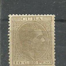 Sellos: CUBA 1882-83 - EDIFIL NRO. 72 - SIN MATASELLAR -. Lote 288934123