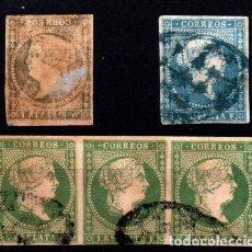 Sellos: ANTILLAS ESPAÑOLA Nº 7 Y 8. AÑO 1857. Lote 290099638