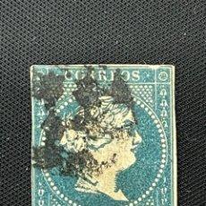 Sellos: ANTILLAS, 1857, ISABEL II, EDIFIL 7, USADO. Lote 292558498