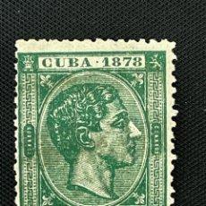Sellos: CUBA, 1878, ALFONSO XII, EDIFIL 47, USADO. Lote 292561808
