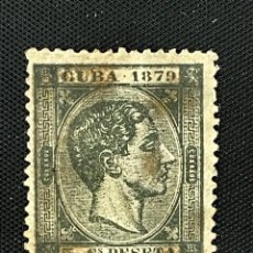 Sellos: CUBA, 1879, ALFONSO XII, EDIFIL 50, USADO. Lote 292562903