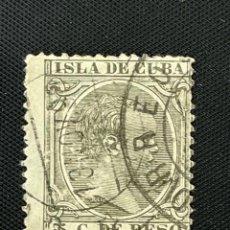 Sellos: CUBA, 1890, ALFONSO XIII, EDIFIL 115, USADO. Lote 292569883