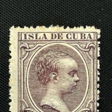 Sellos: CUBA, 1896-1997, ALFONSO XIII, EDIFIL 146, NUEVO CON FIJASELLOS. Lote 292573028