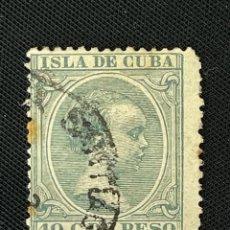 Sellos: CUBA, 1896-1997, ALFONSO XIII, EDIFIL 150, USADO. Lote 292573308