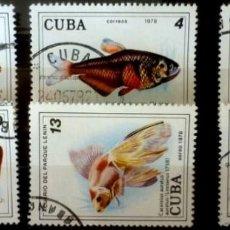 Sellos: SELLOS CUBA 1978 - FOTO 511- SERIE COMPLETA. Lote 293244578