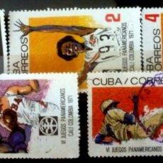 Sellos: SELLOS CUBA 1971 - FOTO 515- SERIE COMPLETA. Lote 293245393