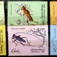 Sellos: SELLOS CUBA 1980 - FOTO 516- SERIE COMPLETA. Lote 293245738
