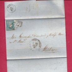 Sellos: CUBA. CARTA AÑO 1860.. Lote 295380648