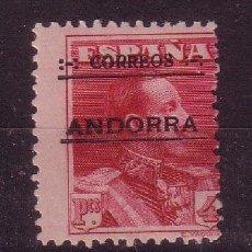 Sellos: ANDORRA EDIFIL 11*** - AÑO 1928 - ALFONSO XIII. Lote 26555791