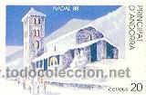 2AND-208N. ANDORRA NUEVO. NAVIDAD 88 (Sellos - España - Dependencias Postales - Andorra Española)