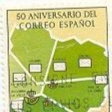 Sellos: 2AND-SH116AU. ANDORRA USADO. 50 ANIV. CORREO ESPAÑOL. Lote 3179913