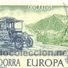 Sellos: 2AND-125U. ANDORRA USADO. EUROPA. COCHE CORREO. Lote 3179926