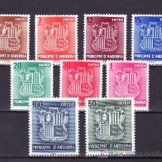 Sellos: .ANDORRA ESPAÑOLA 148/56 SIN CHARNELA, ESCUDO DE ANDORRA, . Lote 9699753