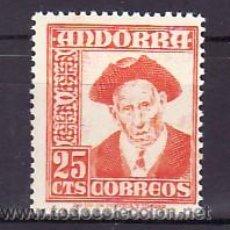 Sellos: .ANDORRA ESPAÑOLA .49 SIN CHARNELA, CONSEJERO GENERAL,. Lote 10606550