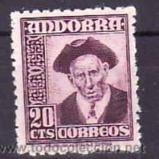 Sellos: .ANDORRA ESPAÑOLA .48 CON CHARNELA, CONSEJERO GENERAL. Lote 10973488