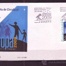 Sellos: ANDORRA EDIFIL SPD 366 - AÑO 2009 - EUROPA - AÑO INTERNACIONAL DE LA ASTRONOMIA. Lote 16446052