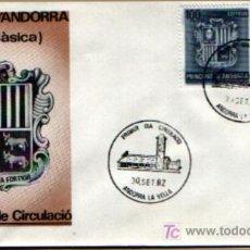 Sellos: SPD ANDORRA ESPAÑOLA DE 1982 - SERIE BÁSICA. S.F.C-44. Lote 16557919