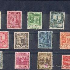 Sellos: 1929 PAISAJES 13 VALORES MUY BIEN CENTRADOS NUEVOS EDIFIL 15-27 THE LUXE. Lote 24649624