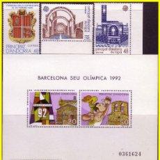 Sellos: ANDORRA 1987 AÑO COMPLETO Nº 195 A 202 * * LUJO. Lote 18253485