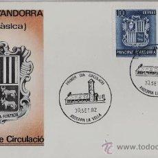 Sellos: ANDORRA ESPAÑOLA.- CORREO ESPAÑOL .- SERIE BASICA - S.P.D.- ED. SFC.- AÑO 1982. Lote 20274704
