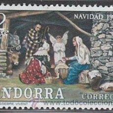 Sellos: ANDORRA EDIFIL Nº 79, NAVIDAD 1972 (PESEBRE VIVIENTE), NUEVO. Lote 20306903