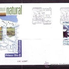 Sellos: ANDORRA EDIFIL SPD 345 - AÑO 2007 - PATRIMONIO NATURAL. Lote 21166618