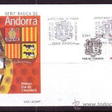Sellos: ANDORRA EDIFIL SPD 343 - AÑO 2007 - HERÁLDICA - ESCUDO DE ANDORRA. Lote 21166665