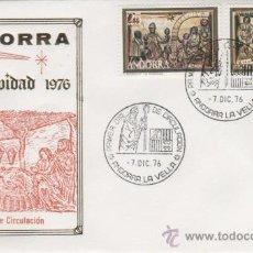 Sellos: 1976.-ANDORRA. NAVIDAD 1976. Lote 23790130