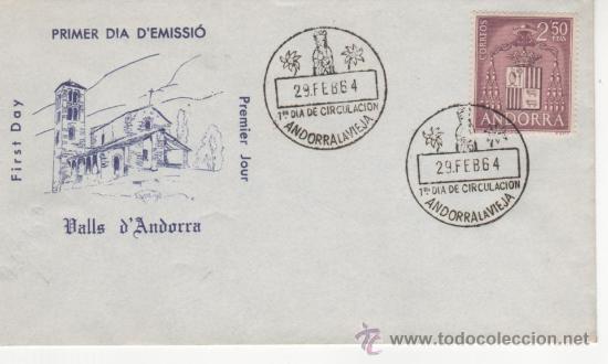 TIPOS DIVERSOS EMISION 1963-64 (Sellos - España - Dependencias Postales - Andorra Española)