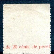 Sellos: EDIFIL 14 DE ANDORRA. BORDE DE HOJA. NUEVO SIN GOMA. Lote 26177344