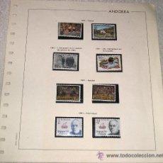 Sellos: EDIFIL EUROPA HOJA DE SELLOS Nº 16 ANDORRA 1981 ANIVERSARIO DE LA CREACION - AÑO INTERNACIONAL . Lote 28149878