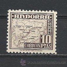 Sellos: ANDORRA 1948,TIPOS DIVERSOS, FIJASELLOS, Nº 57. EDIFIL. Lote 29109662